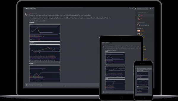 trading community device image